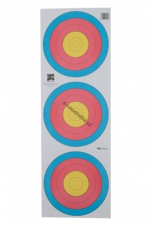 Terč world archery - 3 spoty 30cm